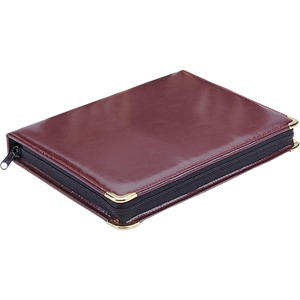 MMF Portable Key Case - Book Fold - Vinyl - Burgundy