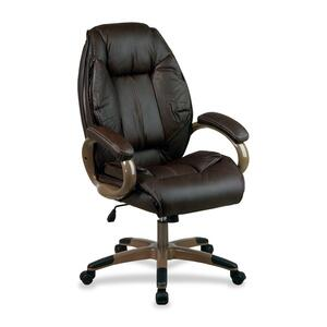 Burgundy. Mahogany. Executive Chair