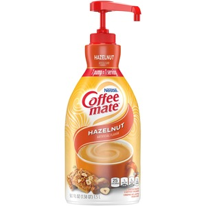 Coffee-Mate Nondairy Creamer - Hazelnut Flavor - 1.5 L - 1 Each