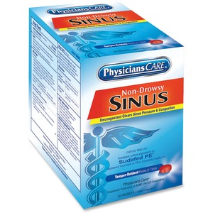 PhysiciansCare Sinus Medicine Packets
