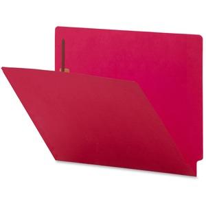 Colored End Tab Fastener Folder