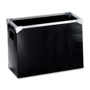 "Esselte Poly Desktop File - Letter - 8.5"" x 11"" - 1 Each - Black"