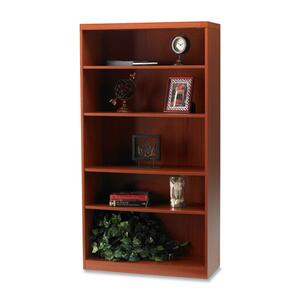 Mayline Aberdeen 5-Shelf Bookcase MLNAB5S36LCR