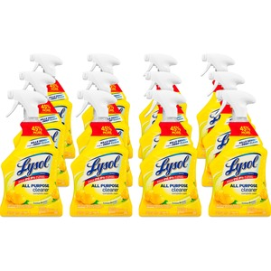 Lysol All-Purpose Cleaner - Spray - 32fl oz - Lemon Scent - Yellow