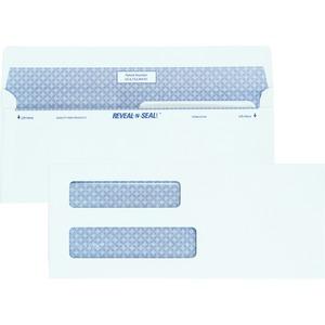 Reveal-n-Seal Double Window Envelope