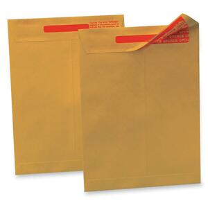 "Quality Park Tamper-indicating Envelope - 13"" x 10"" - 100 / Box - Kraft"