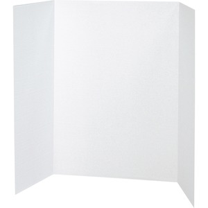 Pacon Spotlight White Headers Corrugated Presentation Board PAC37634