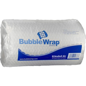 "Sealed Air Cushioning Bubble Wrap - 12"" Width x 30"" Length - Perforated - Clear"
