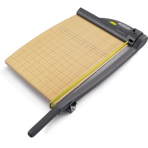 Swingline ClassicCut Wood Laser Trimmer - Cuts 15 Sheet - Aluminum Handle, Stainless Steel Blade