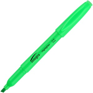 Integra Pen Style Fluorescent Highlighter ITA36185