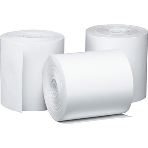 "PM Perfection Thermal Cash Register Roll - 3.12"" x 220ft - 50 / Carton - White"