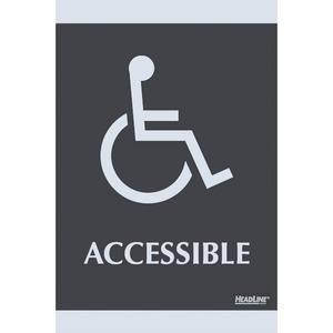 Century Handicap Accessible Sign