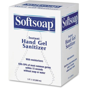 Softsoap Hand Gel Sanitizer - 800mL - Fragrance Free, Moisturizing, Anti-bacterial