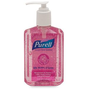 Gojo PURELL Spring Bloom Instant Hand Sanitizer - Spring Bloom Scent - 8fl oz - Moisturizing - Pink