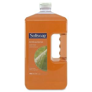 Softsoap Antibacterial Liquid Soap Refill - 1gal - Anti-bacterial - Light Brown - 4 / Carton
