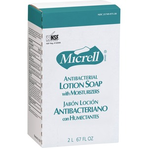 MICRELL NXT Antibacterial Liquid Soap Refill - 2000mL - Anti-bacterial, Antimicrobial - Amber