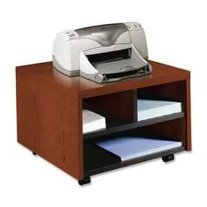 HON 105679J Mobile Printer/Fax Cart - Henna Cherry