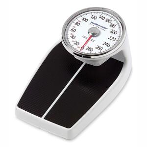 Health o Meter Large Raised Dial Scale - White, Black
