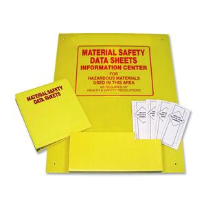 "TATCO MSDS Information Center - ""Preprinted - 24"" x 30"" - Plastic - Yellow"