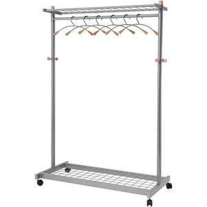 Alba Practical Chrome Coat Rack ABAPMLUX6
