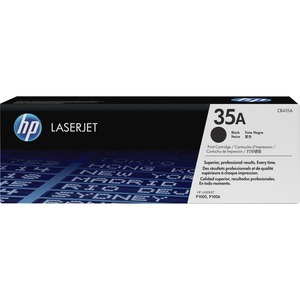 HP 35A Black Original LaserJet Toner Cartridge HEWCB435A
