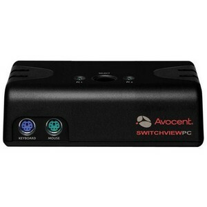 Avocent SwitchView 100 2-Port PS/2 KVM Switch 2SV110BND1