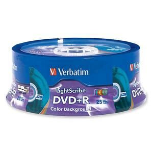 Verbatim 96432 DVD Recordable Media - DVD+R - 16x - 4.70 GB - 25 Pack Spindle VER96432