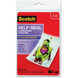 Scotch Self-sealing Laminating Pouch MMMPL900G