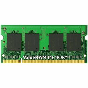 Kingston ValueRAM PC2-6400 2GB 1X2GB DDR2-800 200PIN SODIMM CL5 Memory Upgrade Module