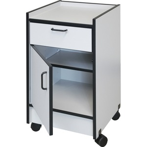 Hausmann Drawer and Cabinet Mobile Cart HNI901820927