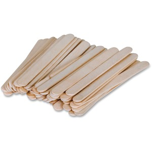 "Pacon Natural Wood Craft Sticks - 9.52mm x 4.5"" - Natural"