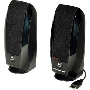 Logitech S-150 2.0 Speaker System - 1.2 W RMS - Black LOG980000028
