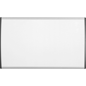 "Quartet Magnetic Dry-Erase Boards With Adjustable Clips - 24"" x 14"" - Aluminum Frame"