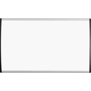 "Quartet Magnetic Dry-Erase Boards With Adjustable Clips - 30"" x 18"" - Aluminum Frame"