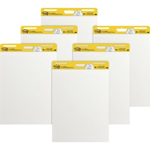 Post-it Super Sticky Easel Pad - 30 Sheet(s) - 25&quot; x 30&quot; - 1 Carton - White