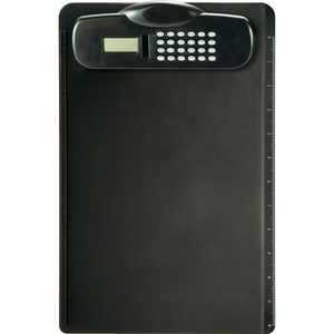 OIC Plastic Clipboard With Calculator OIC83336