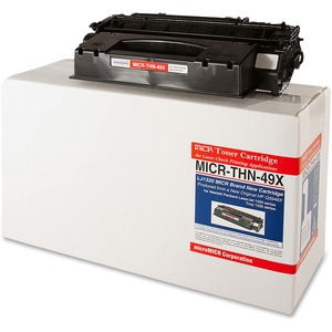 Micromicr Black Toner Cartridge MCMMICRTHN49X
