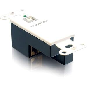 Cables To Go USB SuperBooster Transmitter Wall Plate