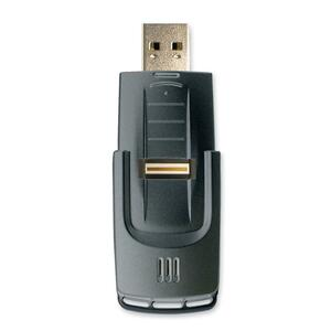 Kanguru Bioslider 2GB Flash Memory Drive USB with 256BIT AES Encryption and Fingerprint Protection