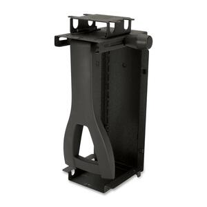 HON CPU Holder - Plastic, Rubber - 85 lb - Black