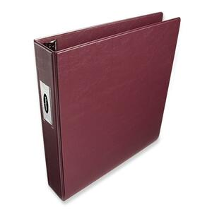 "Wilson Jones Single Touch D-Ring Binder - Letter - 8.5"" x 11"" - 540 Sheet x 1.5"" Capacity - 1 Each - Red"