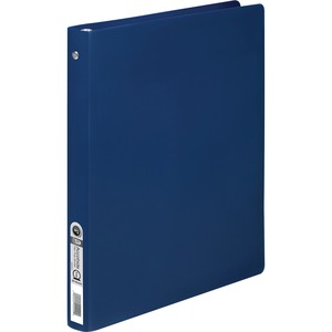 "Acco Accohide Ring Binder - Letter - 8.5"" x 11"" - 100 Sheet x 0.5"" Capacity - 1 Each - 23pt. - Matte, Royal Blue"