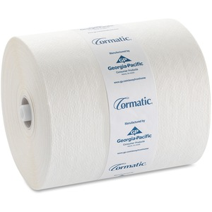 Georgia-Pacific Cormatic Hardwound Roll Towel - Paper Towel - 1 Ply - 900 sheets/roll - White