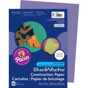 SunWorks Groundwood Construction Paper PAC7203
