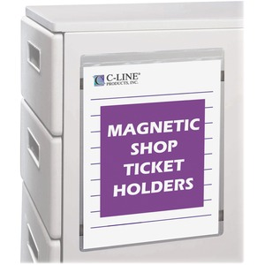 Magnetic Shop Ticket Holder