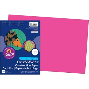 SunWorks Groundwood Construction Paper PAC9107