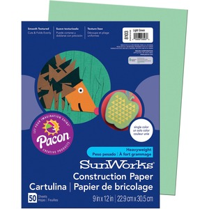 SunWorks Groundwood Construction Paper PAC8103