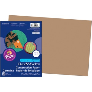 SunWorks Groundwood Construction Paper PAC6907