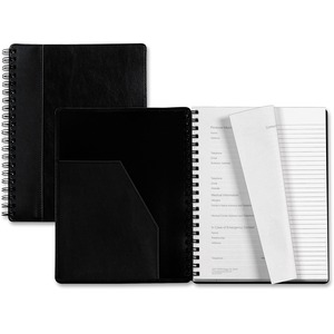 Tops Leatherette Executive Notebook TOP25431