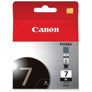 CANON - SUPPLIES PGI-7 BK PIGMENT BLACK INK TANK FOR PIXMA MX7600